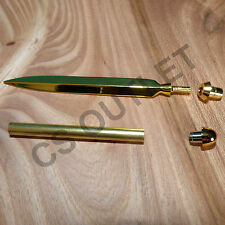 Letter Opener Kit Gold, Premium Double Edge style kits - for woodturning