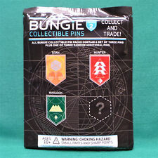 Destiny Class Quest Collectible Pin Set of 4 Titan Hunter Warlock SEALED Bungie