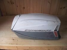 AE1C3656 1960's Vintage Evinrude Outboard Big Twin Cowl Hood Missing Decals