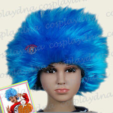 Thing1 thing2 Blue Halloween Kids children Baby wig (fits from infants to teens)