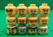 *NEW* Lego Bulk Heads Faces Minifigures Fig People Stocking Filler -12 pieces