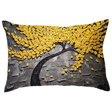 Rectangle Pillow Cover Cushion Case Toss Pillowcase Hidden Zipper Closure