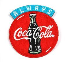 Coca-Cola Coke USA Bügelflicken Aufnäher Emblem Patch Always Logo 7 cm