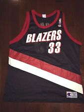 SCOTTIE PIPPEN Vtg 90s 1999 Portland TRAIL BLAZERS CHAMPION Basketball Jersey 52