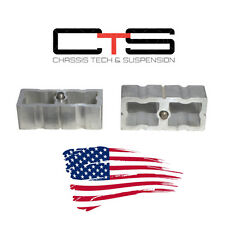 "97-03 Ford F-150 1"" rear lift blocks kit 98 99 00 01 02 American Made aluminum"