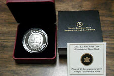 Fine Silver Ultra High Relief Coin Grandmother Moon Mask Mintage: 6000 SOLD-OUT
