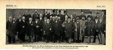 Feierliche Übergabe d.Amtes Gadderbau an die Stadt Bielefeld c.1900