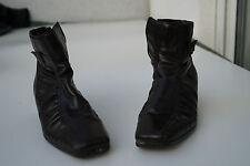 schicke RIEKER Damen Winter Stiefel Boots Schuhe gefüttert Gr.38 braun TOP