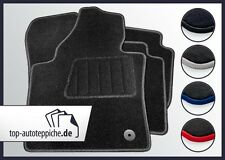 Mazda 5 5-Sitze ab Bj 6/10 100% passform Fussmatten Autoteppiche Silber Rot Blau