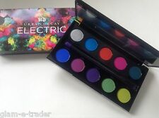 URBAN DECAY New! Electric Bright Eye Shadow Palette x 10 BNIB + 2 Ended Brush