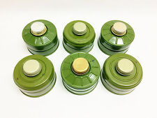 6pcs nato 40mm gas mask filters 40mm replacements GP-7 GP-5 ISRAELI PMK GP-7V