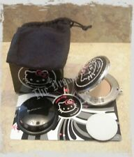 Mac Hello Kitty Sheer Mystery Powder Pressed Compact DARK SECRET + 1 Refill NIB