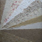 10 A4 sheets NATURAL mulberry papers MIXED PACK banana straw grass CRAFTY COW