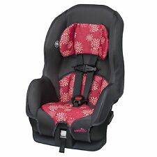 EVENFLO CONVERTIBLE CAR SEAT 5-40 Lbs.Infant Baby Toddler Girl Pink Safe Travel