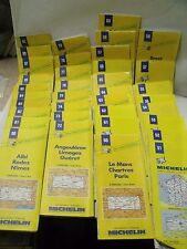 lot de 36 CARTES ROUTIERES MICHELIN FRANCE