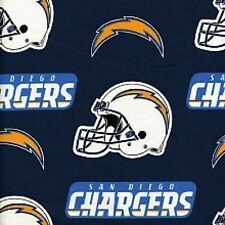 Barbeque Apron Made with San Diego Chargers NFL Cotton Fabric Cook Grilling BBQ