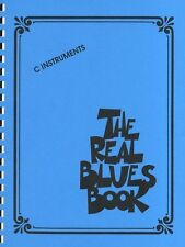 The Real Blues Book C Instruments Learn to Play Piano Keyboard Guitar Music Book