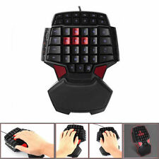 Professional Gaming Keyboard Backlight LED Wired USB Game For CS LOL WOT T9