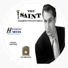 THE SAINT - 65 Shows Old Time Radio In MP3 Format OTR 1 CD   Vincent Price