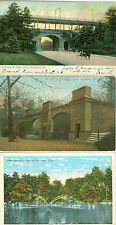 Cincinnati, OH Entrance to Eden Park, Bear Pits & the Lake in Zoological Gardens