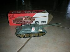 Russian Authentic Military CY-100 Tank - Die Cast ( B 15)