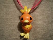 Pokemon Torchic Anime Figure Charm Necklace Cute Kawaii Cool Collectible Jewelry
