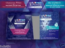 Crest 3D Glamorous White LUXE 28 Whitestrips & 1Hr Express 4 Whitestrips