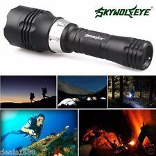 5000 Lumens 60m Waterproof CREE T6 LED Diving Flashlight Torch Scuba Light Lamp