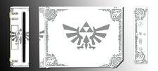 Legend of Zelda Grey White Special Edition Game Decal SKIN for Nintendo Wii
