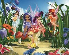 Wandtattoo Wandbild Kinderzimmer cm 244 x 305 MAGICAL FAIRIES 40359 Walltastic