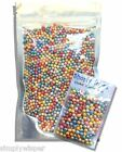 Edible Mixed Colour 4mm Shimmer Pearl Dragees Sugar Cupcake Cake Decoration