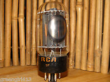 Vintage RCA 6L6 GC Black Plate Stereo Tube Results = 43  #4781