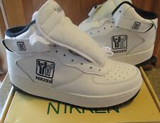 Womens NIKKEN Athletic Cardiostrides Weighted Exercise Shoes Size 10 White NIB