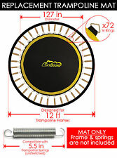 "SkyBound Premium 127"" Trampoline Mat w/72 V-Rings for SportsPower - TR-12-SF-FLZ"