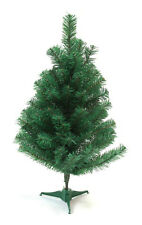DLUX Christmas Trees Artificial Charlie Pine – Unlit (Green 2 ft)