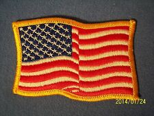 AMERICAN Flag Patch Team USA Waving Old Glory Stars Stripes Olympics Biker Scout