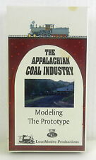 Train VHS Tape ~ THE APPALACHIAN COAL INDUSTRY Modeling The Prototype,1994 Vol.4