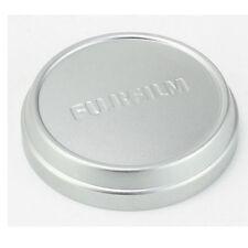 Push UP Front Lens Cap Cover Fr Fuji FujiFilm X100 X100T X100S X70 Camera Silver