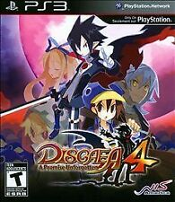 Disgaea 4 A Promise Unforgotten NEW factory sealed Sony Playstation 3 PS3