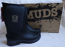 NIB Noble Outfitters Men's 9 Muds Stay Cool Mid Height Black Boot Waterproof