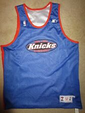 New York Knicks NBA Game Worn Practice Basketball Starter Jersey XL