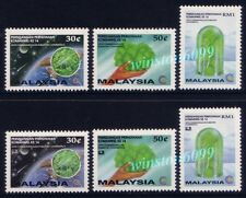 1993 Malaysia Forest Conference 3v + Overprint Bangkok World Stamps Expo 3v Rare