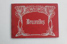 Brüssel Reiseführer, Jugendstil um 1920, Hardcover