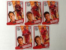 TOPPS PREMIER LEAGUE 2006/07 I-CARDS. FULL SET OF ALL 5 LIVERPOOL