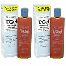 New 2 x 250ml Neutrogena T/Gel Therapeutic Shampoo