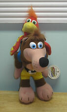 "1998 Banjo - Kazooie 8"" Beanie Plush Nintendo N64 With Tag BD&A Collectable Toy"