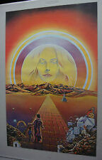 Third Eye Inc Head Shop Psychedelic Vintage Poster The Teacher Ron Walotsky 1972