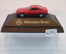 Herpa 1/87 PC Mercedes Benz 500 SL Faszination en Miniature  OVP #6045