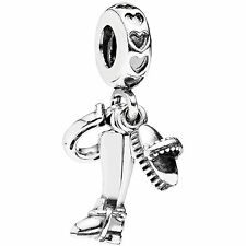 Authentic Pandora Charm Sterling Silver  Equestrian Dangle 791265
