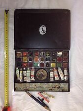Stunning Reeves Vintage Students' No 65 Artists Watercolour Field Paint Box